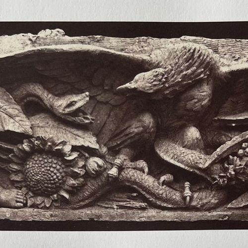 EDOUARD BALDUS (1813 1889) Le combat de l'oiseau et du serpent, sculptures décor…