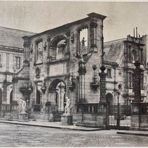 CHARLES BOSSU DIT MARVILLE (1813 1879) Arc de Gaillon, École des Beaux Arts, Par…