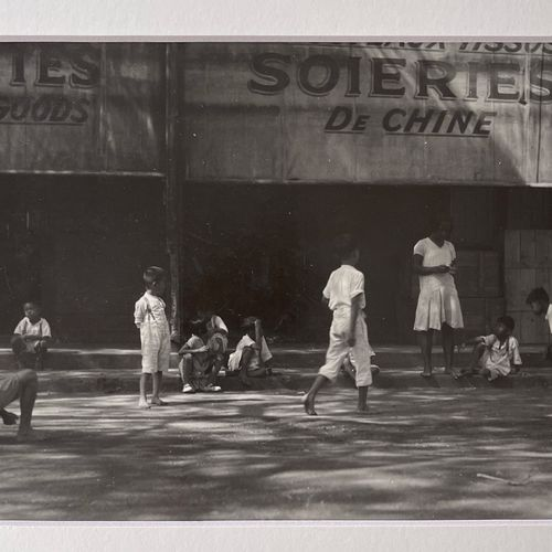Roger PARRY (1905 1977) China Town Soiries de Chine, Guadeloupe, 1932 170x230 mm…