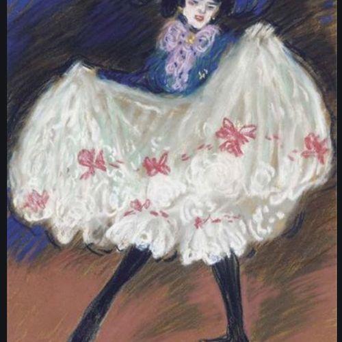 Charles Ogereau (1868 1908) La Danseuse (Cancan), Paris, c. 1900 Vintage carbon …