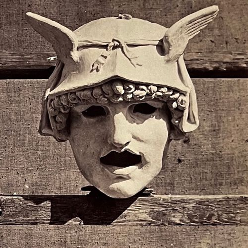 Louis Émile Durandelle (1839 1917) Eight Masks, Sculptures for the New Paris Ope…