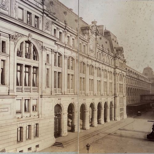 Albert Chevojon (1864 1925) successor Delmaet et Durandelle Cour de Rome Gare St…