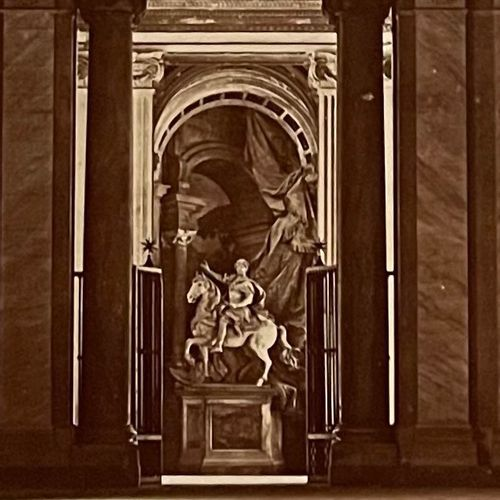 James Anderson (1813 1877) Vault of St Peter Vestibule, Vatican City, 1850s Salt…