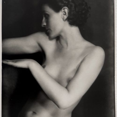 Willy Kessels (attr.) Nude, circa 1930 Silver print, 180x240 mm with large white…
