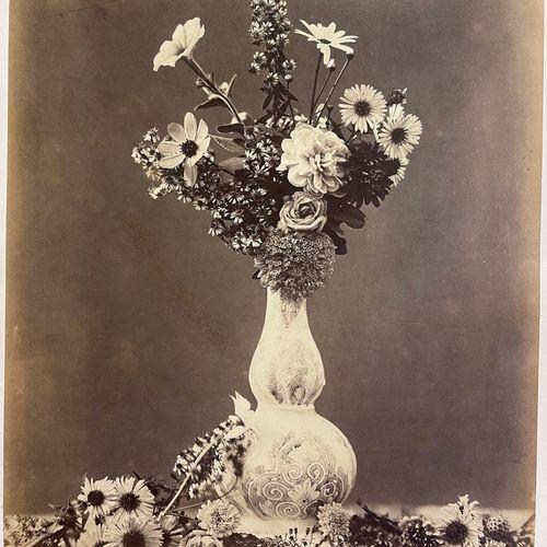 CHARLES AUBRY (1811 1877) Large Bouquet, 1864 Large albumen print, 475x376 mm, s…