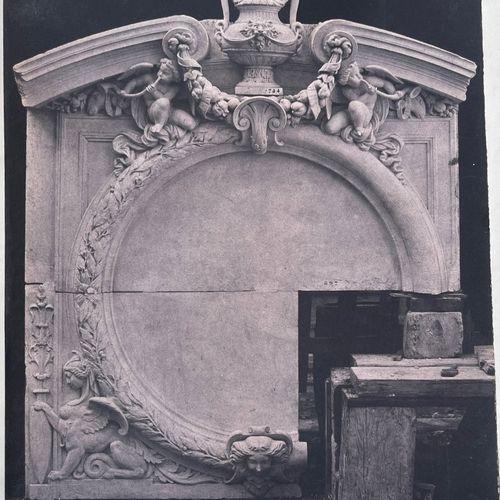 EDOUARD BALDUS (1813 1889) Composition with table and sculpture, Paris, c. 1855 …