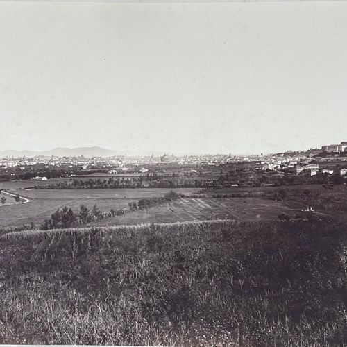 James Anderson (1813 1877) Panorama from Monte Mario, behind St Peter, c.1860 Ve…