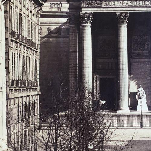 Gustave Le Gray (1820 1884) Le Panthéon, 1857 Albumen print, 478x400 mm, strong …