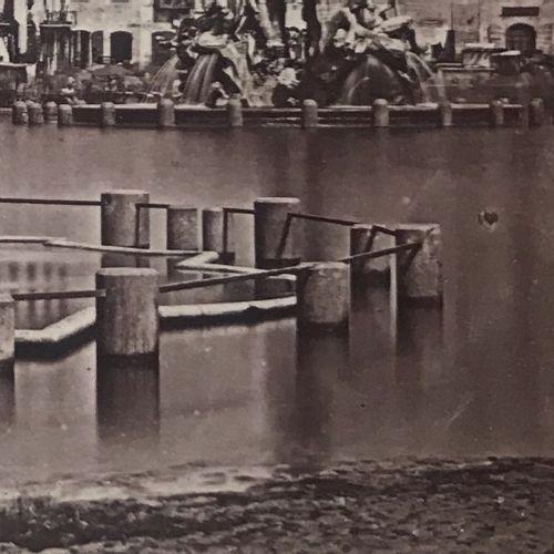 James Anderson (1813 1877) Lago di Piazza Navona carta salata albuminata, 240x18…