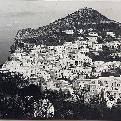 Unidentified photographer Panorama of Capri, circa 1930 Silver print on heavy ma…