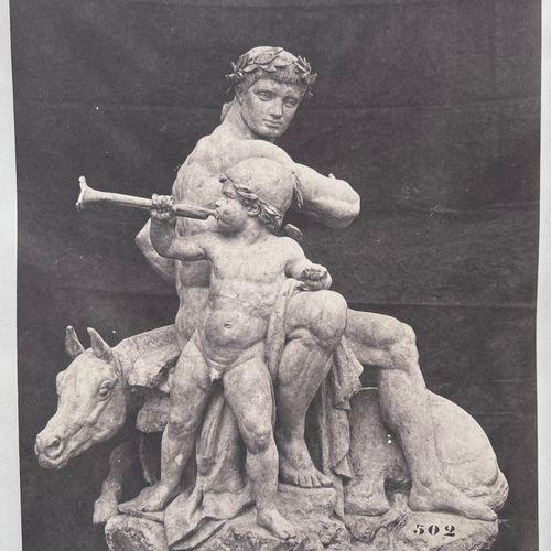 Edouard Baldus (1813 1889) after Antoine Louis Barye La Victoire, La Paix, L'Ord…