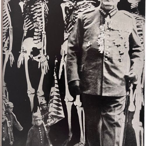 John Heartfield (1891 1968) The lost photomontage reproduction of a photomontage…