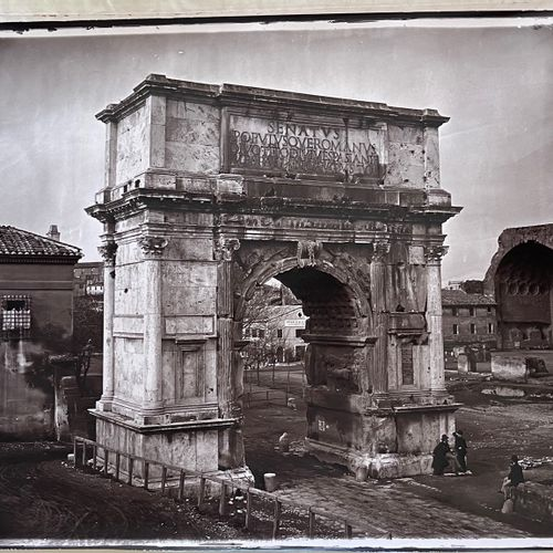 Adolphe Braun (1812 1877) & family Arch of Titus, Rome, c. 1868 Large carbon pri…