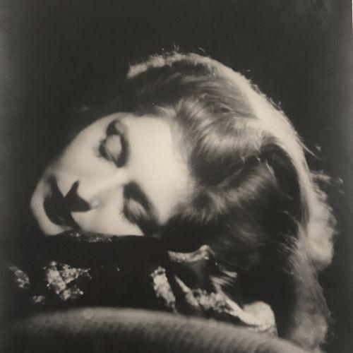 Georg von Hoyningen Huene (1900 1968) Study for Vogue, Marlene Dietrich? 1930, V…