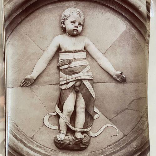Adolphe Braun after Raffaello Six Putti, Florence, c. 1868 Medium size carbon pr…