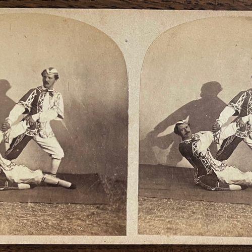 Adrien Tournachon, dit Nadar jeune (1825 1903) Scène de cirque, Paris, c. 1855 A…
