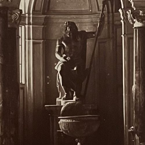 James Anderson (1813 1877) Gallery of Statues at the Vatican Museum, 1850s Salt …