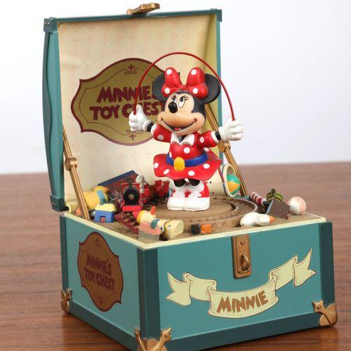 """Boite à musique à décor de """"Minnie""""."""