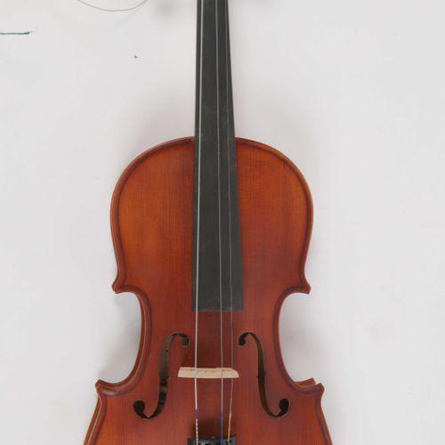VIOLON, longueur : 58 cm. Archet , lg : 74 cm. (ref : 257/28)