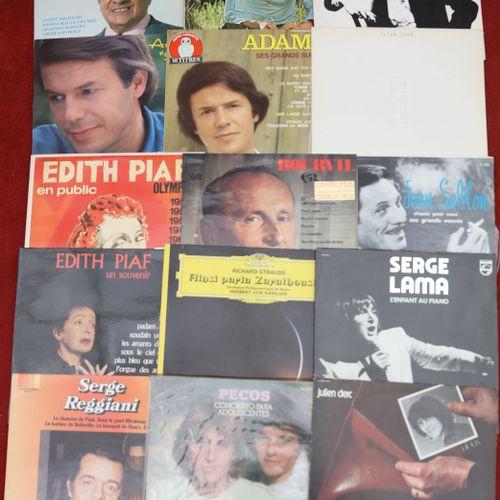 Lot de 66 disques