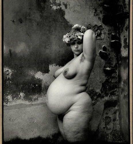 Saudek, J. (b.1935). The Belly of the Night. Gelatin silver print, 1988, 24,3x19…