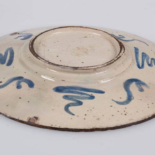 Pottery plate. Iznik. Turkey. Late 16th century. Pottery plate. Iznik. Turkey. L…