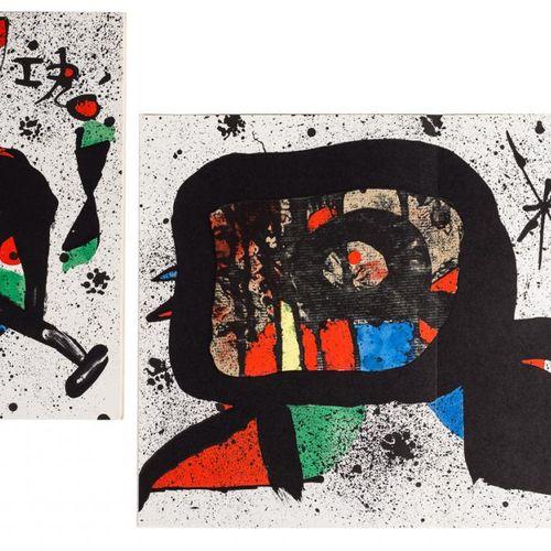 JOAN MIRO (Barcelona, 1893 Palma de Mallorca, 1983) La Formiga / Ocella Litograf…