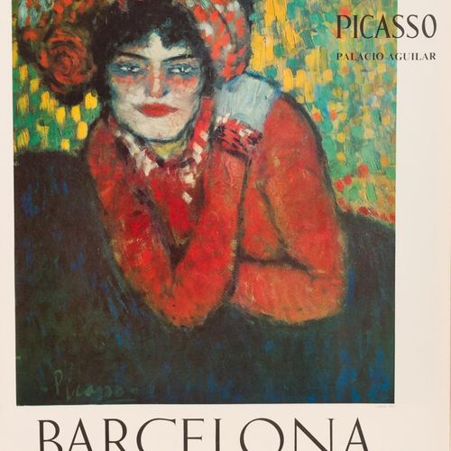 PABLO PICASSO (Málaga, 1881 Mougins, Francia, 1973) L'Attente 1901 Offset 76,5 x…