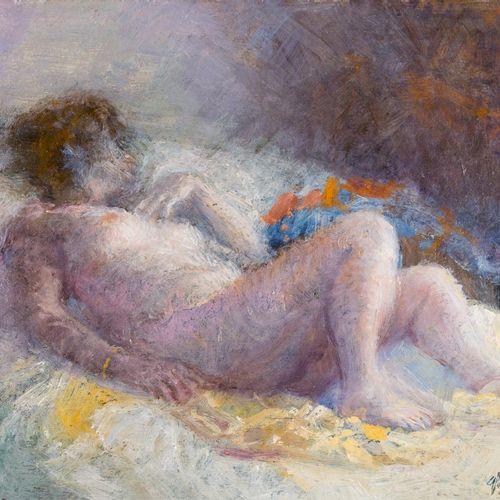 GUILLERMO VARGAS RUIZ (Bollullos de la Mitación, 1910 Madrid, 1990) Nudo femmini…