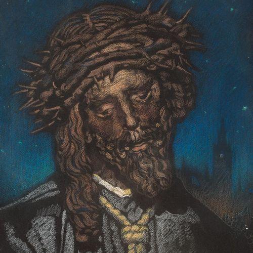 RAFAEL CANTARERO (Sevilla, 1907 1957) Nuestro Padre Jesús del Gran Poder Pastell…