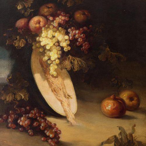 JOSÉ PALOMAR (Sevilla, 1929 2001) Natura morta con frutta Olio su tela 73,5 x 60…