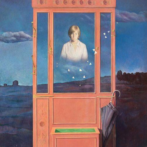 FERMÍN DURANTE (Málaga, 1933 2007) Paesaggio con dolcezza Olio su tela 130 x 89 …