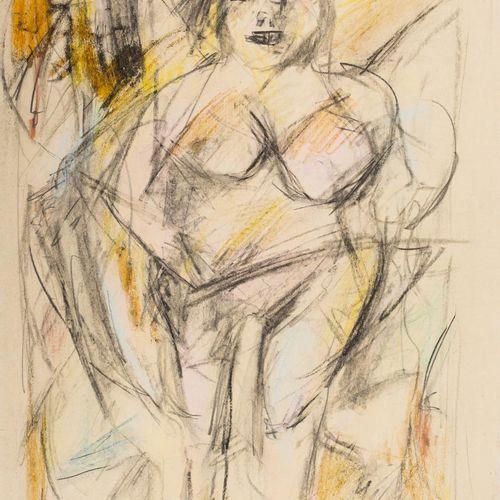 WILLEM DE KOONING (Róterdam, Países Bajos, 1904 East Hampton, Nueva York, 1997) …