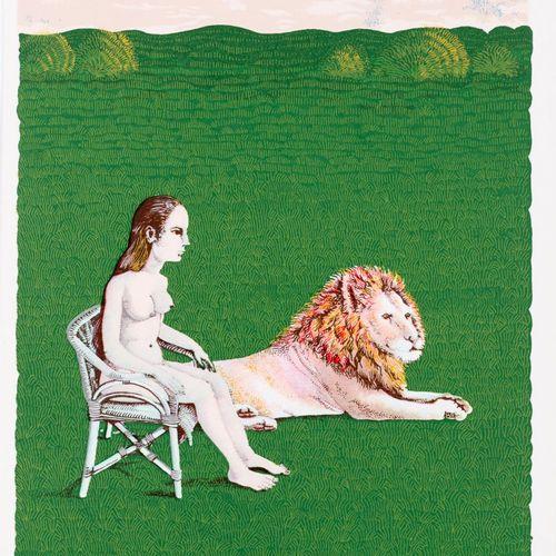 ISABEL VILLAR (Salamanca, 1934) El mono Serigrafia 34,5 x 24 cm Serigrafia origi…