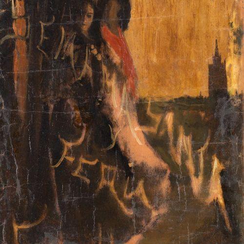 EUSTAQUIO MARÍN RAMOS (Sanlúcar la Mayor, 1873 1959) Settimana Santa e Fiera di …