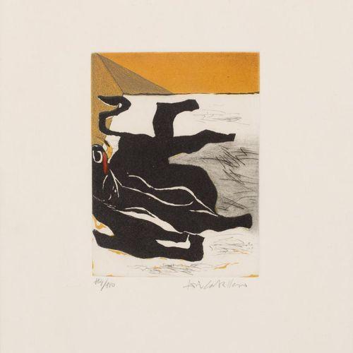 José Caballero (Huelva, 1916 Madrid, 1991) S/T Incisione 16 x 12 cm / 38 x 28 cm…