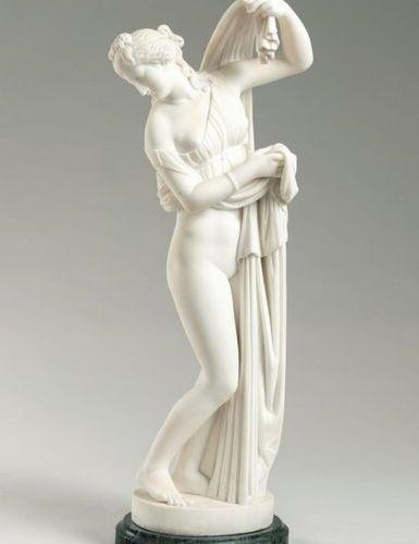 Gaetano Rossi (1829 ) Italie Aphrodite Kallipygos (1875) Sculpture White marble …