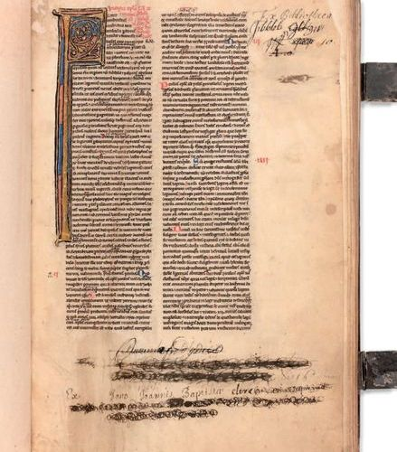 MANUSCRIPT BIBLE from the 3rd quarter of the 13th century. Arras or Cambrai circ…