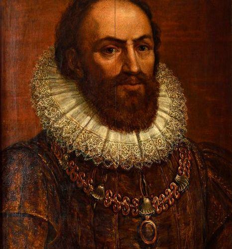 """Suite de DUBOIS Ambroise (1543 1614)  """"Portrait de Maximilien de Béthune, Baron …"""