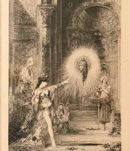 "After Gustave MOREAU (1826 1898)  ""The Apparition""  Print, proof for the Exposit…"