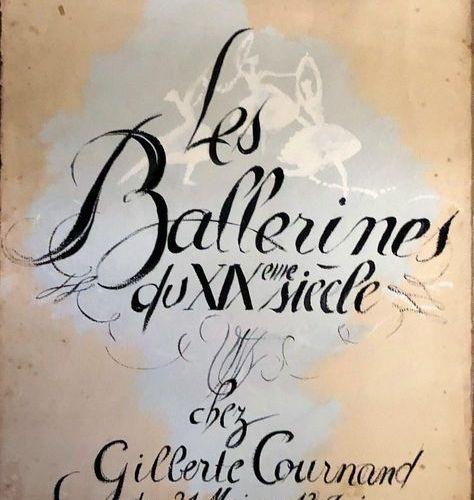 """Monique LANCELOT (1923 1982)  """"Les Ballerines du XIXe siècle chez Gilberte Courn…"""