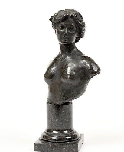 "Paul PAULIN (1852 1937)  ""Isadora Duncan (1877 1927)""  Beautiful bronze edition,…"