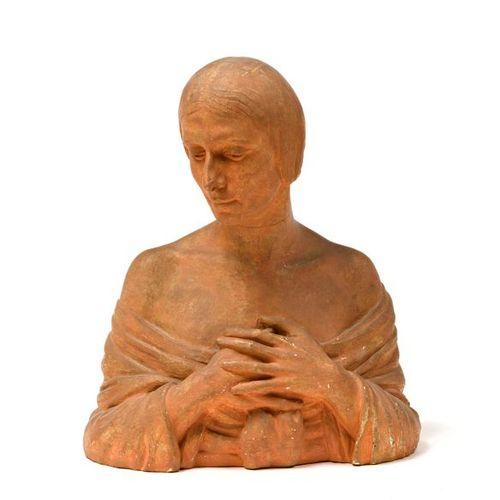 "After Malvina CORNELL HOFFMAN (1885 1966)  ""Bust of Anna Pavlova (1881 1931)""  P…"