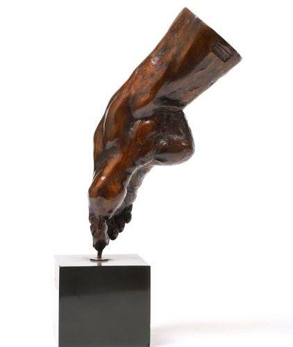 "Damien HERMELLIN (1942)  ""The foot of Sylvie Guillem (born in 1965), star dancer…"