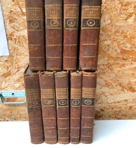 Dictionnaire de Chymie, 4 vol, Paris, Didot Jeune, 1778  Elements of Natural His…