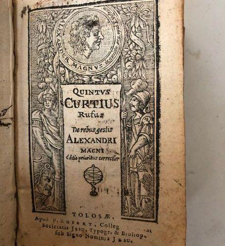 Quintus Curtius Rufus (known as) QUINTE CURCE  De rebus gestis Alexandri magni r…