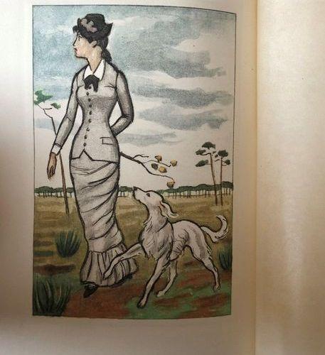 P.BENOIT, L'Atlantide, Paris, PLON, 1934  Engravings after Fouqueray.  They are …