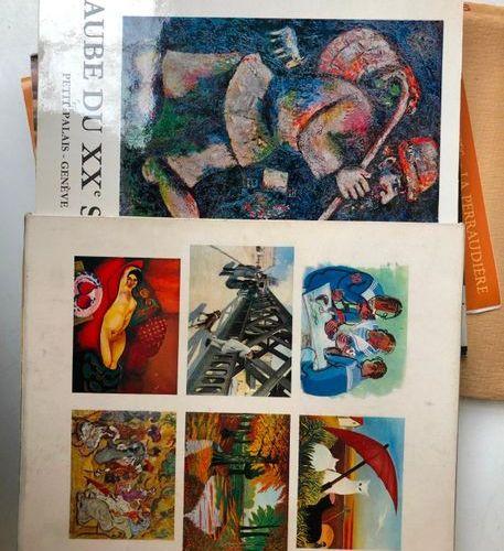Lot including:  C. Goldscheider, Dessins de Sculpteurs, Paris Librairie des Arts…