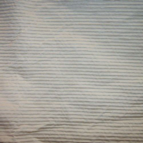 Pair of curtains in ivory rep, lined, fleece lined   3, 30 x 2, 33 m