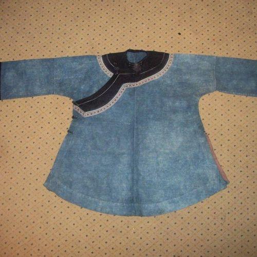 Miao jacket, China, based on the model of an informal Han woman's jacket, indigo…